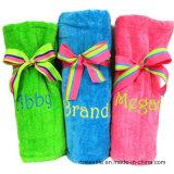 Выполненное на заказ напечатанное полотенце пляжа велюра