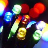 LEDの水低下LEDの販売のための無線クリスマスツリーライトが付いている太陽クリスマスの照明
