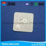 Beste verkaufenmarke HF-13.56MHz passive RFID für Bücher 50X50mm
