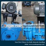 Pompes horizontales centrifuges de boue d'entraînement de cv de moteurs