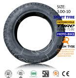 Neumático 3.00-10 de la motocicleta del neumático de la motocicleta de la moto del neumático del Vespa del neumático de la vespa