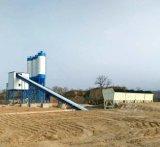 planta de procesamiento por lotes por lotes concreta de la capacidad grande de la correa 90m3/H