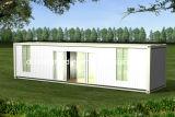 Casa prefabricada del envase de la instalación fácil