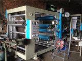 De Machine van de Druk van Flexo van zes Kleur