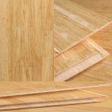 Suelo tejido hilo de bambú natural del color