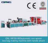 Completamente sacos não tecidos automáticos da tela Onl-Xb700-800 que fazem a máquina