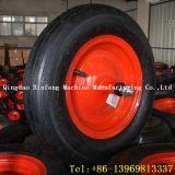 Rotella di gomma solida della carriola di alta qualità