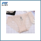 Plain Breathable Mujeres Panty Lady Underwear
