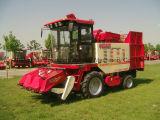 Casca promovida para a máquina da colheita de milho da liga de três fileiras