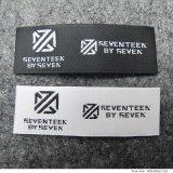 Etiqueta tecida tear de venda quente da canela para vestuários