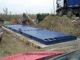 3X16m60ton weegbrug voor de Uitvoer
