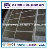 Platen van het Molybdeen van de Fabrikant van China de Levering Aangepast/Bladen of Wolfram Plates/Sheets dat in het Groeien van de Saffier Oven worden gebruikt