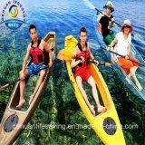 Caiaque transparente da canoa para a venda