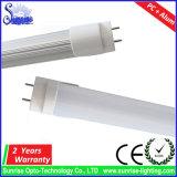 2FT 9W T8 LED 관 또는 위원회 또는 천장 또는 전구 또는 아래로 또는 플러드 빛