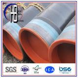 Tubulação de aço anticorrosiva espiral pintada revestida de grande diâmetro para a água/petróleo/gás