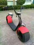 2シートが付いている電気スクーター
