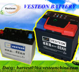 12V d'acide de plomb sèchent la batterie chargée N120 de voiture