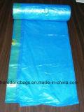 Bolso de basura plástico del lazo de la alta calidad