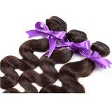 ボディ波のペルーのバージンの毛、加工されていない未加工バージンのペルーの毛