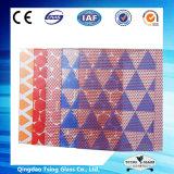 vidro da impressão da tela de seda de 6mm para a porta deslizante de vidro
