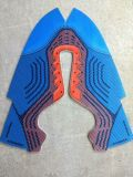Sports Mesh Shoes PU Shoe Leather高いHeeled Shoes (Colorful1325)のためのデジタルImage Directly Printer