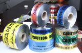 探索可能な地下の警告テープ