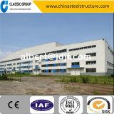 La Cina a quattro livelli facile e velocemente installa il magazzino/fabbrica della struttura d'acciaio/liberato di con il disegno