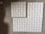 fábrica de mármol blanca del mosaico 3D que proporciona directo