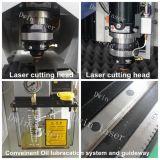 machine de découpage de laser de fibre de tube en métal 500W pour l'acier du carbone, acier inoxydable