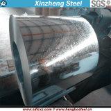 O revestimento de zinco do material de construção 30-275g galvanizou a bobina de aço para o atacadista