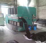 Type machine de maxillaire de Vulcanzing/machine de vulcanisation presse de plaque