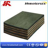 Шахта, камень, конвейерная резины черноты шнура Ep Nn ткани цемента песка стальная