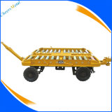 航空支援用地上器材のためのGSEパレットトロッコのトレーラー