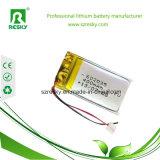 bloco da bateria do polímero de 800mAh 3.7V 503450 Li para produtos eletrônicos