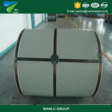 Material de construcción/metal/acero galvanizado 30g/60g/80g/100g/120g/140g prepintado Tianjin PPGI del cinc de la estructura del soldado enrollado en el ejército