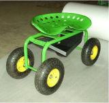 Передвижная тележка инструмента для сада с 4 колесами (TC1852)