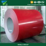 Ширина высокого качества 750-1250mm Prepainted гальванизированная стальная катушка