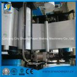 Maquinaria de dobramento gravada impressão do papel do guardanapo das vendas de Shunfu