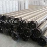Pipe de canalisation verticale d'acier inoxydable pour des puits d'eau profonde