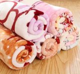 Coperte comode e molli della tessile domestica