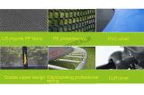 2017ベストセラーの新しい安全屋外の円形のトランポリンおよび安全策