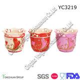 I POT quadrati di ceramica della pianta hanno impostato per decorativo
