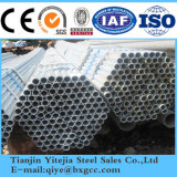 Tubo galvanizzato, tubo d'acciaio galvanizzato Hot-DIP (SS400, Q235B, Q345B)