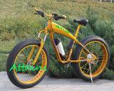 Bicicleta eléctrica de la montaña gorda del neumático con 500W el motor Ebike