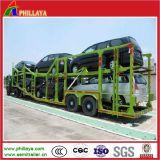 автомобилей 2axles транспортера трейлер Semi для нагружать автомобилей 6-10