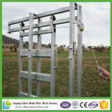 Equipamento do gado que desliza a porta de deslizamento do painel e deslizamento do painel