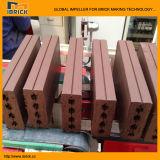 기계에게 자동 벽돌 기계장치 조형 벽돌을 하는 쪼개지는 벽돌 외장 벽돌
