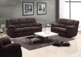 Sofá comercial moderno 1+2+3 do Recliner do couro da sala de visitas (HC6802)