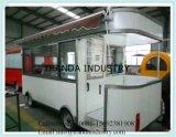 Chariot entier de kiosque de vente de remorque de Westerncooking fabriqué en Chine à partir de Qingdao