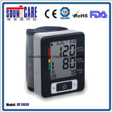 Moniteur médical de pression sanguine de poignet de Digitals de ménage (point d'ébullition 60CH) avec la caisse d'ABS